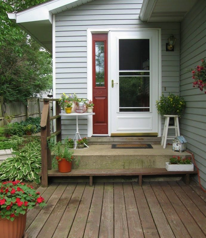 Fresh House Deck Design Ideas