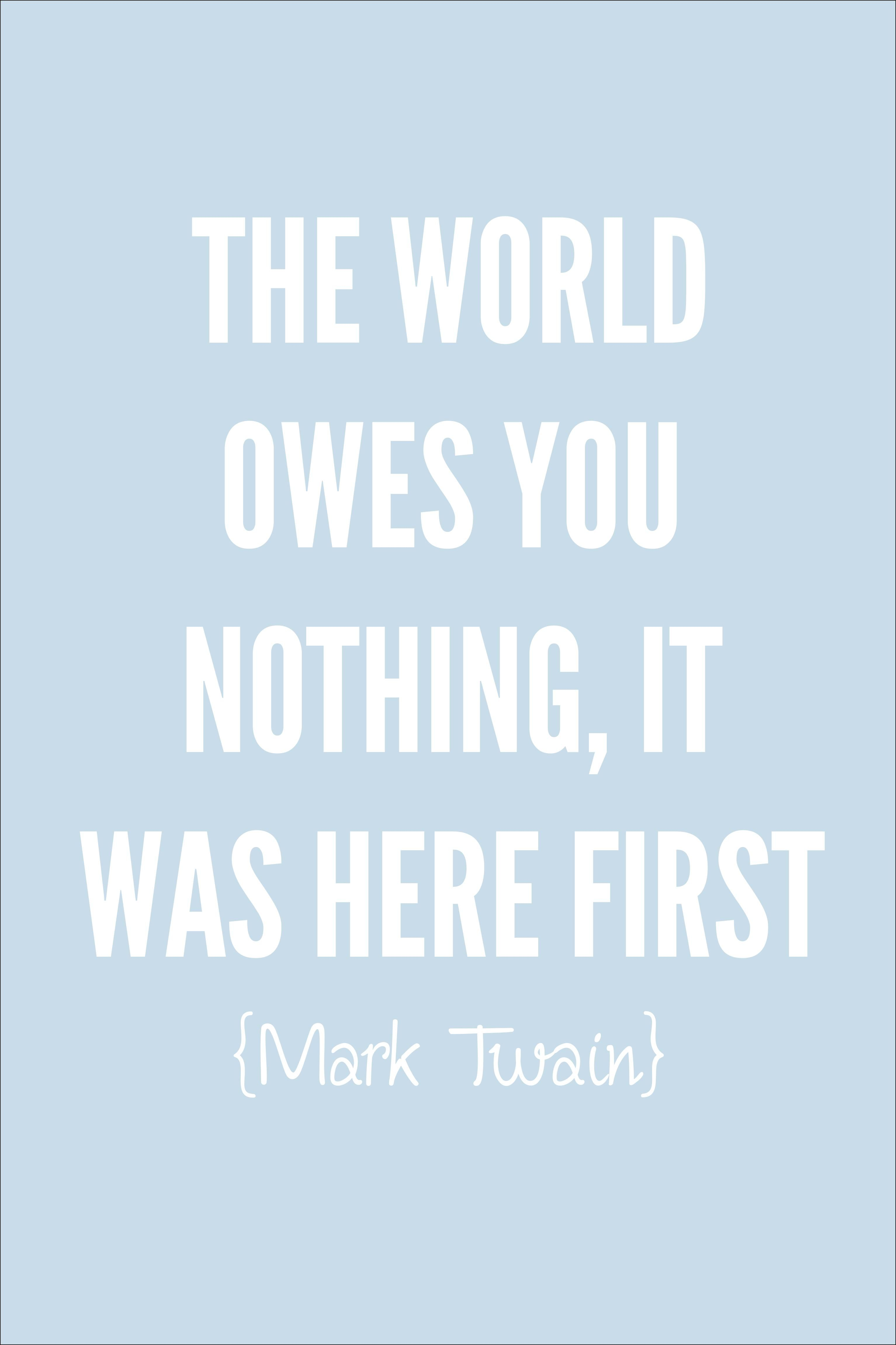 Quotes Respect Mark Twain Respect Quote  Words For The Soul  Pinterest