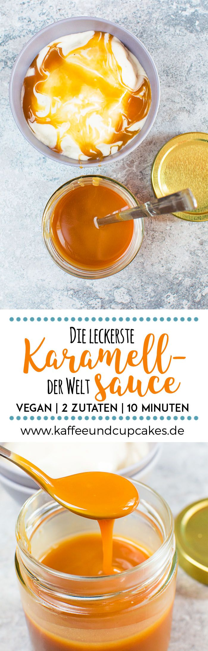 Die leckerste Karamellsauce der Welt: 2 Zutaten, 10 Minuten, vegan