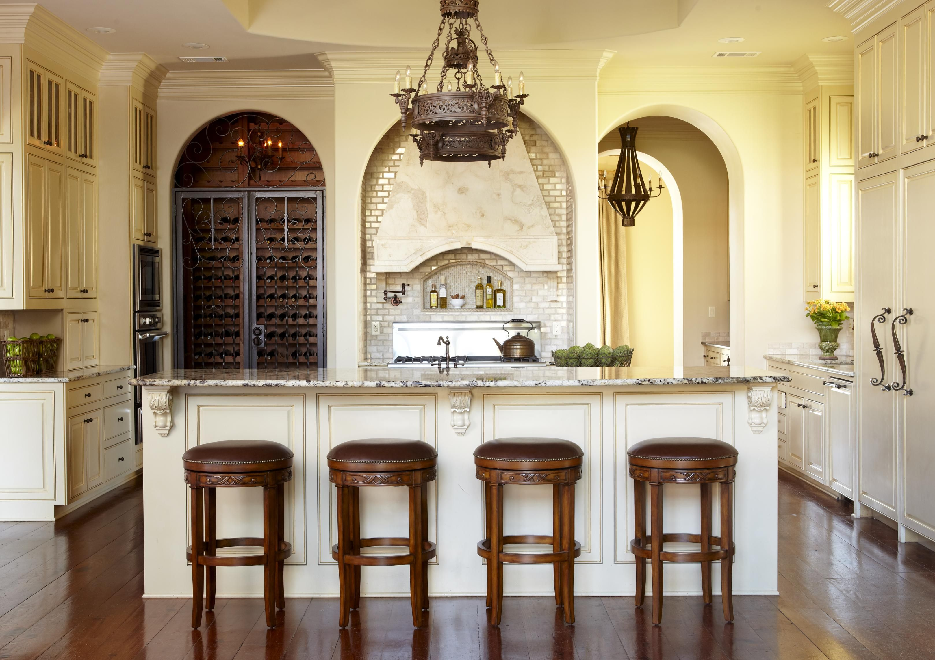 Country french kitchens traditional home kitchen u dining