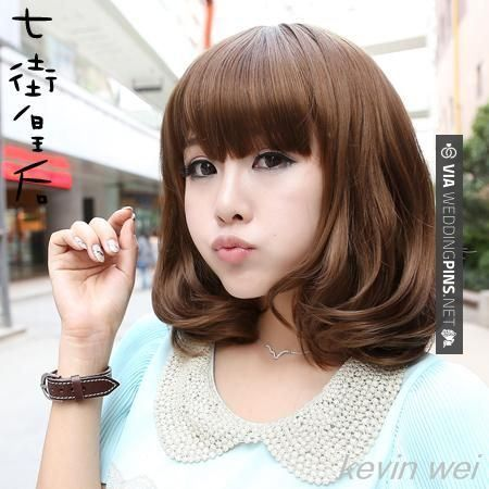 Miraculous 1000 Images About Korean Medium Hairstyles 2015 On Pinterest Short Hairstyles Gunalazisus