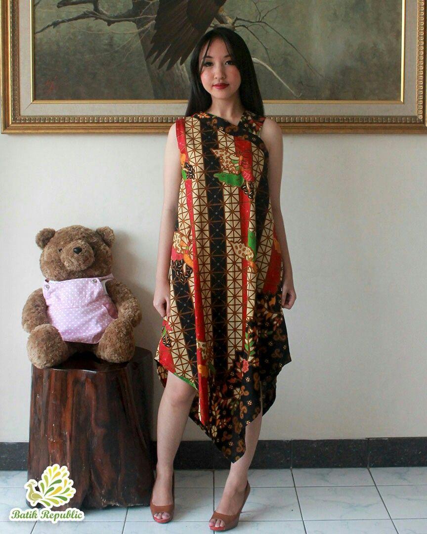 Batik dress modern batik republic order by wa