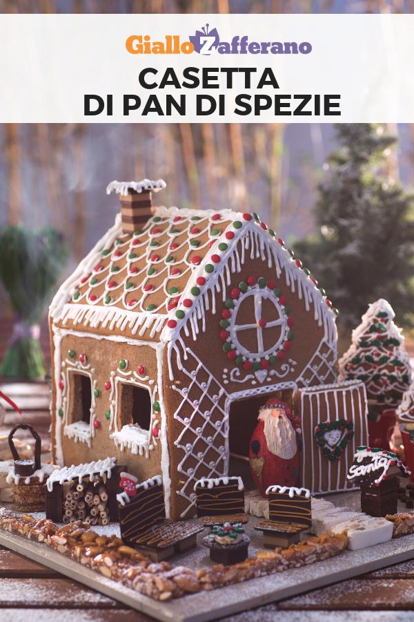 Casette Dolci Di Natale.Casetta Di Pan Di Spezie