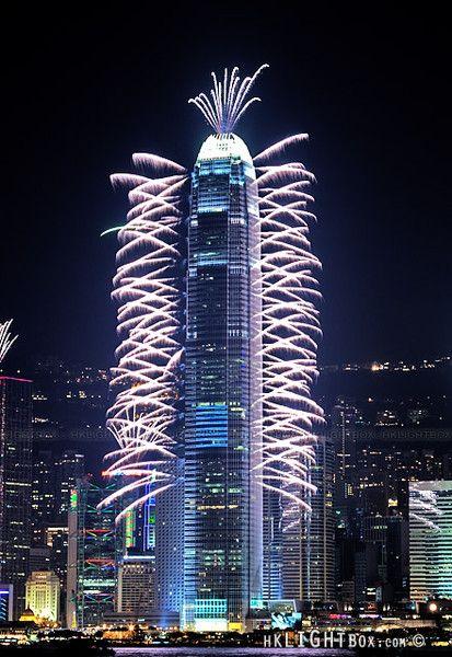 Centro de las Finanzas Internacionales. Hong Kong