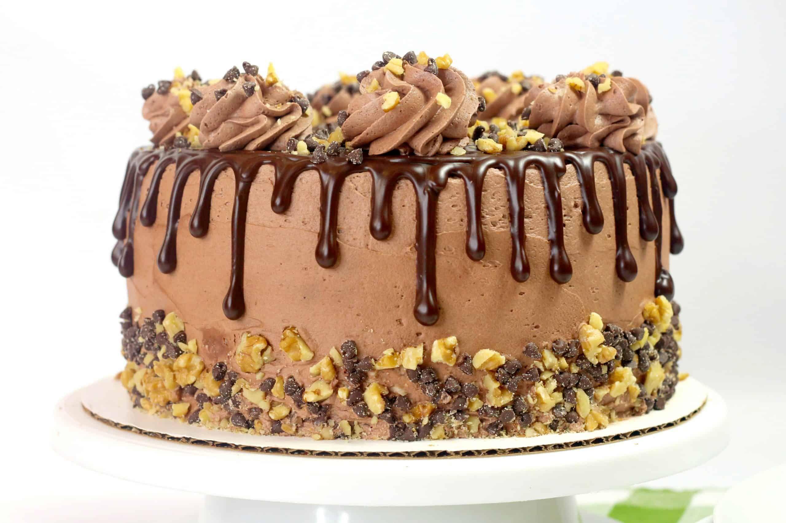 Decadent chocolate fudge cake recipe in 2020 chocolate