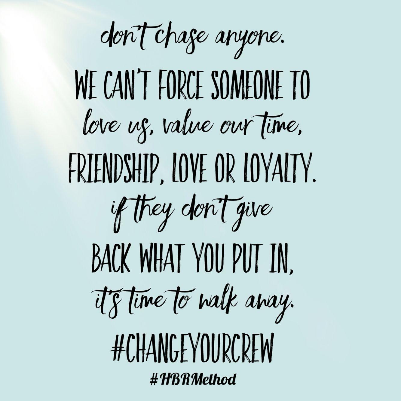 Quote Love Loyalty Friendship Hbrmethod