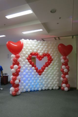 Wall Decoration with Balloons