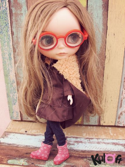 Fashion blythe glasses by kuloft by Kuloft, via Flickr