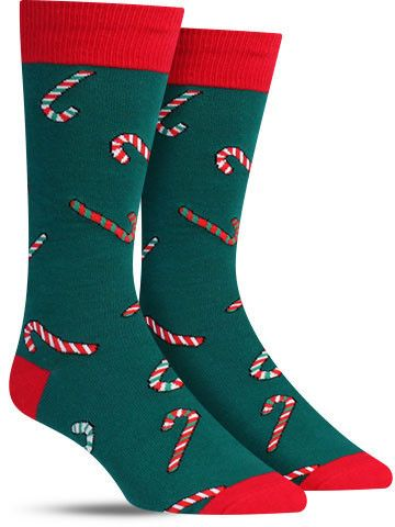 66d9cf2f16 Good Luck Sock Men s Christmas Santa Clause Crew Socks