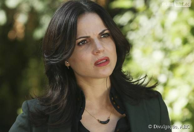 Em Once Upon A Time Na 5ª Temporada Regina Lana Parrilla E A