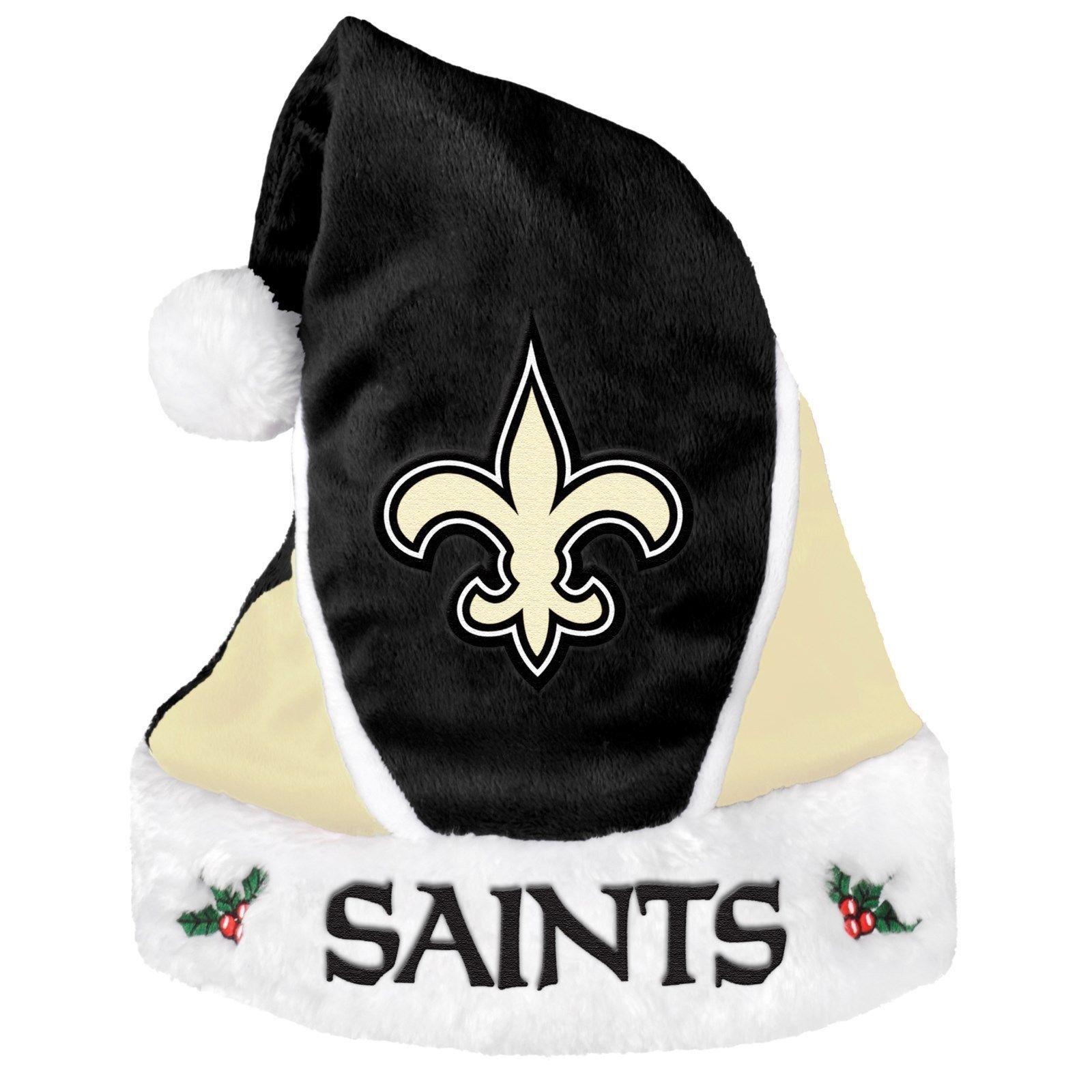 New Orleans Saints Colorblock Santa Hat  8ef6dbb6a
