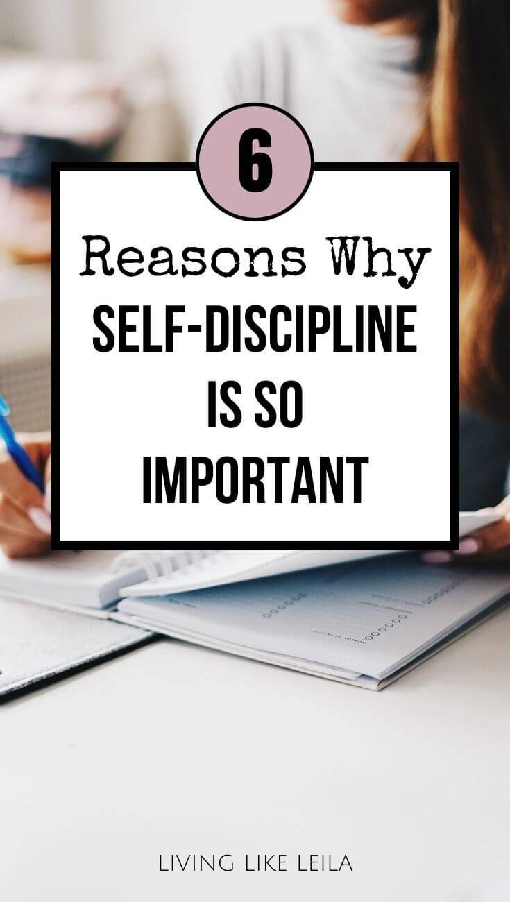 6 reasons why selfdiscipline is so important living
