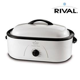 Rival 8 Quart Roaster Oven 32 Roaster Ovens Electric Roaster