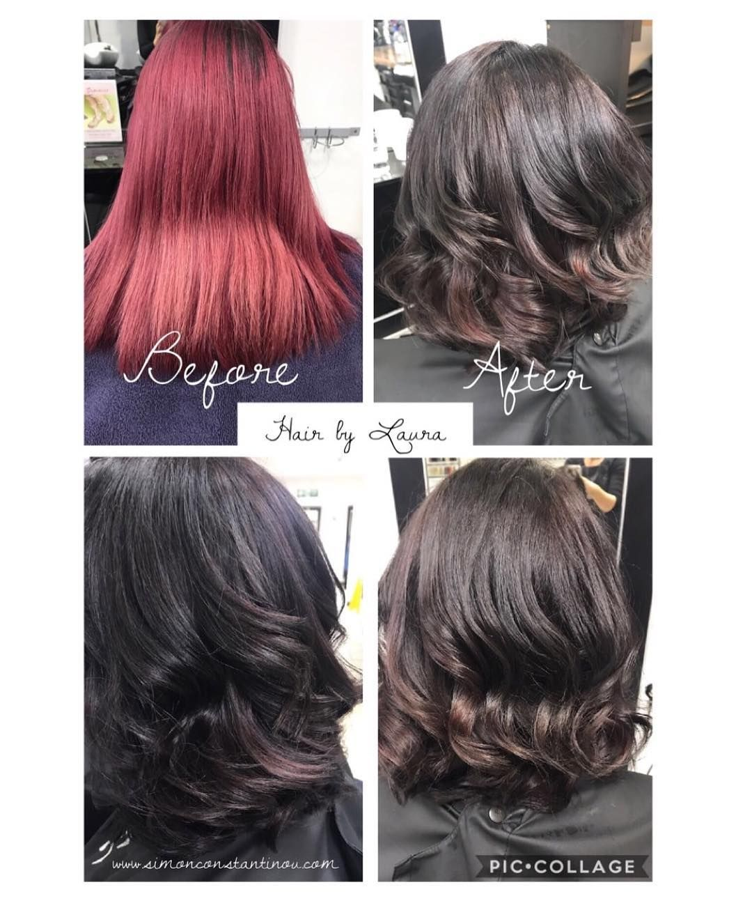 New tone Down Red Hair Color