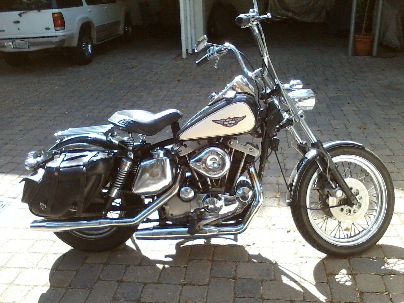 Harley Davidson Sportster 1975 Xlch Shovelhead