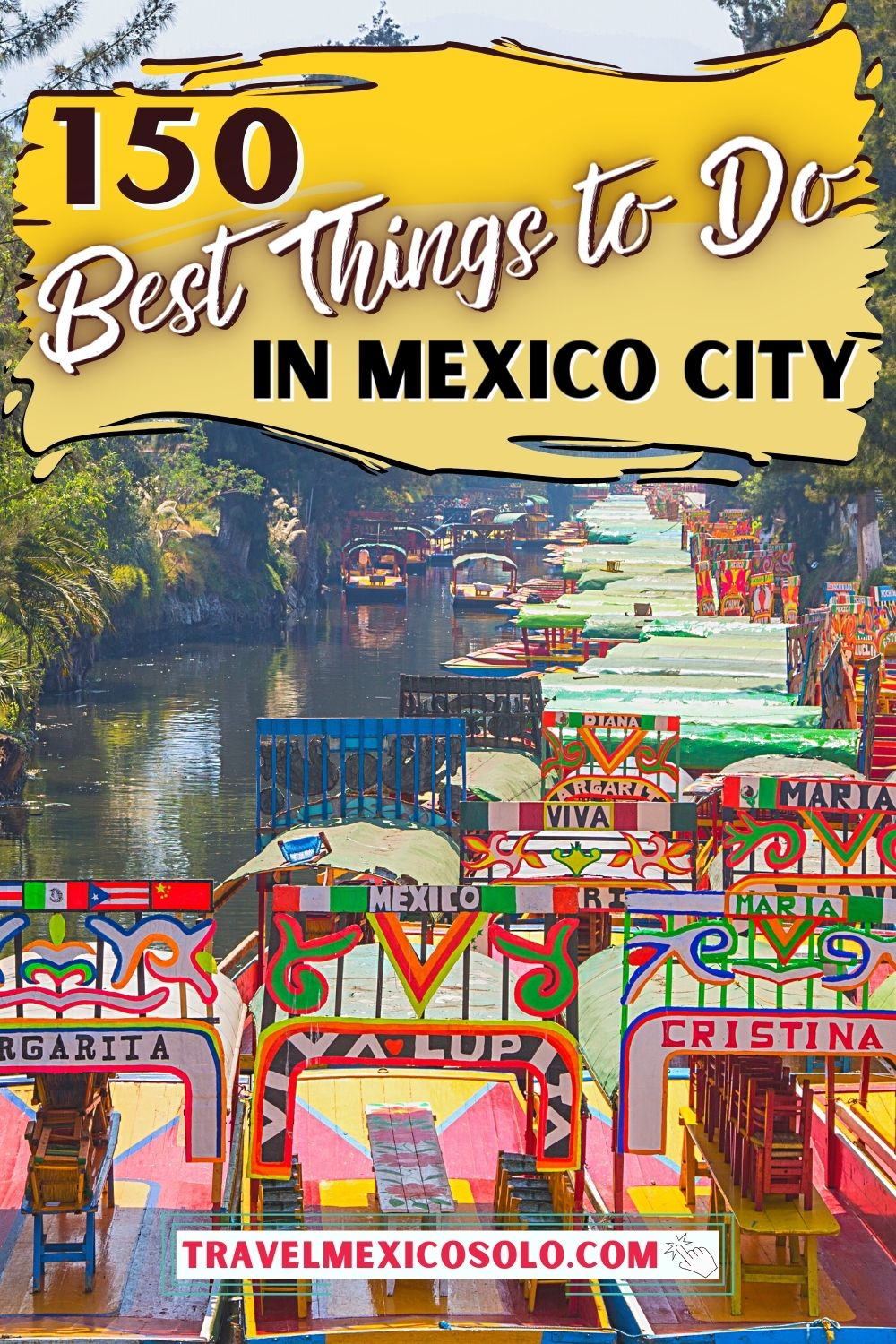 I used to live in Mexico City — which, is how I was able to compile this epic list of 150 things to do, see & eat in CDMX 🇲🇽 From the Xochimilco boats to authentic street food tacos al pastor, and everywhere from Roma Norte/Condesa to Centro Historico, this is the *only* guide you'll need for your Mexico City tyip.