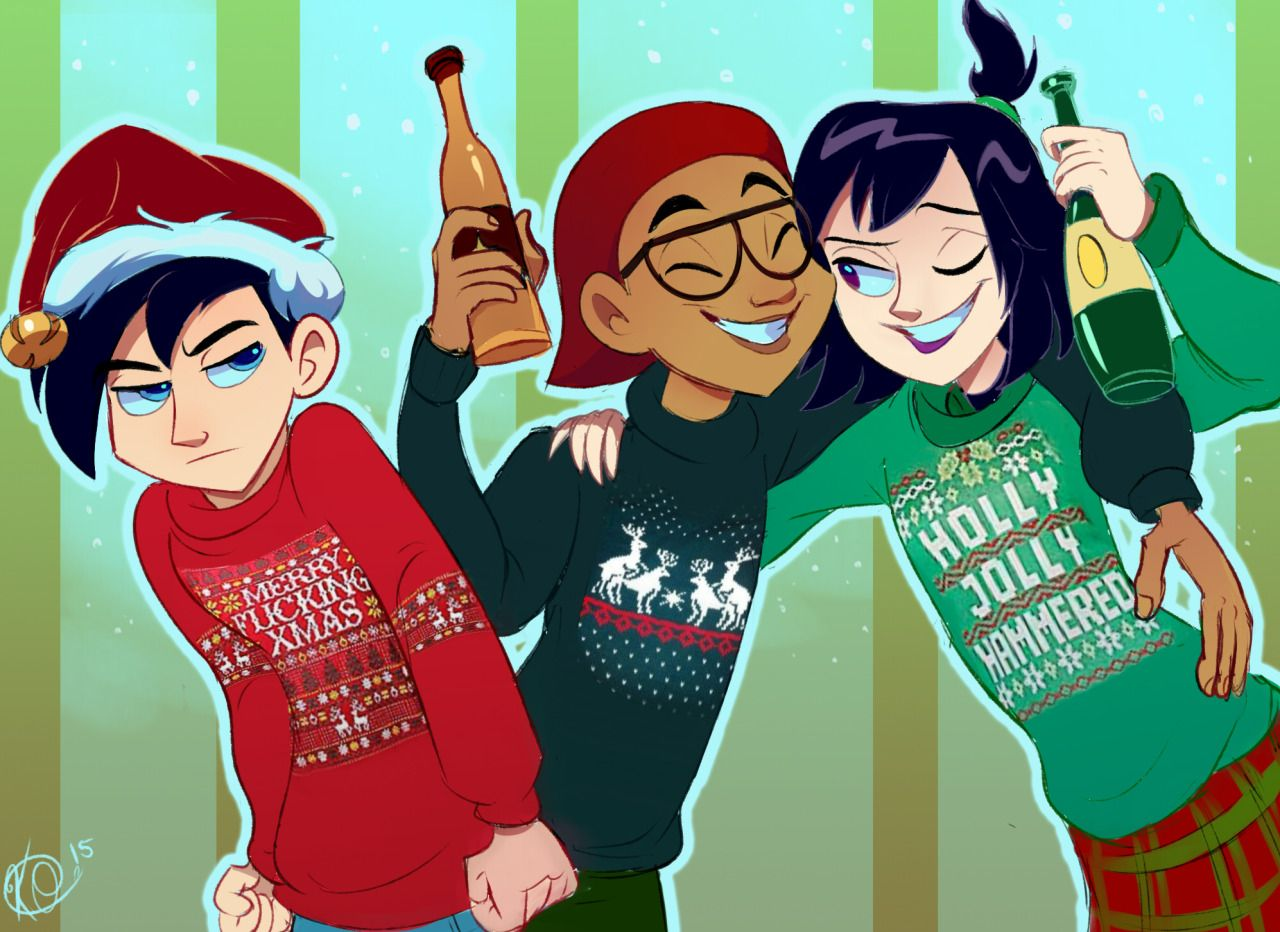 "weird-animation-dork: "" Danny Phantom + Inappropriate Christmas ..."