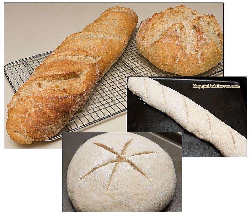 Just four ingredients: Yeast Flour Warm water Salt | Food ...