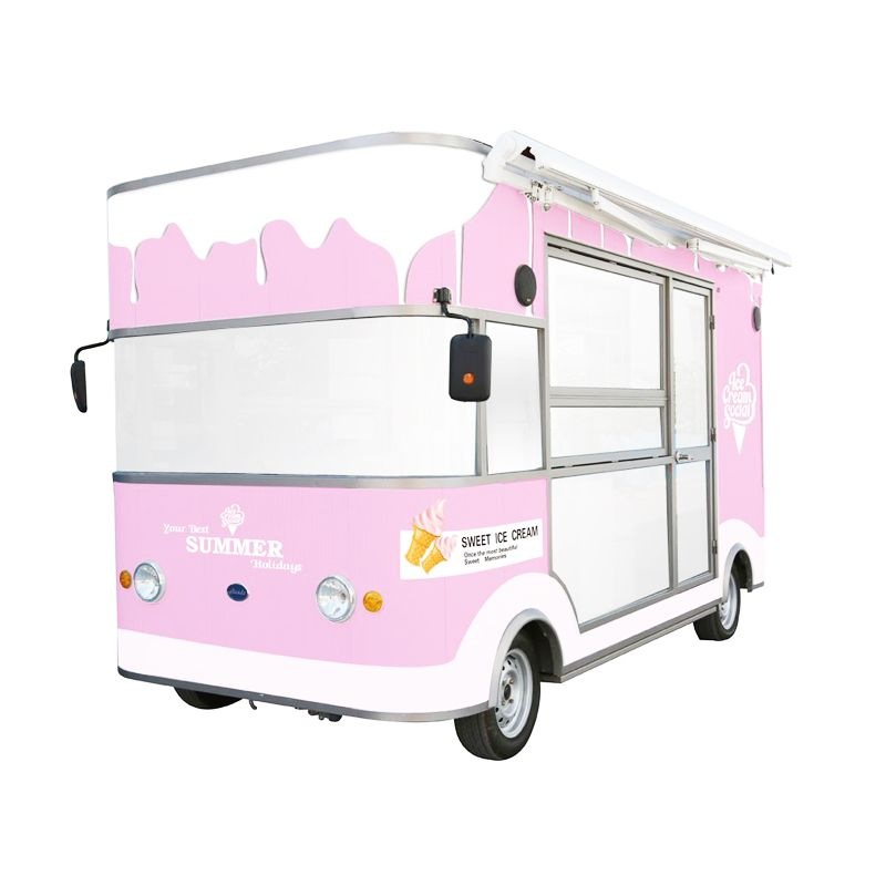 6d871a342d chinese manufacturers Europe food trucks mobile food trailer