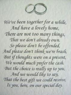 No t poem The big day Pinterest