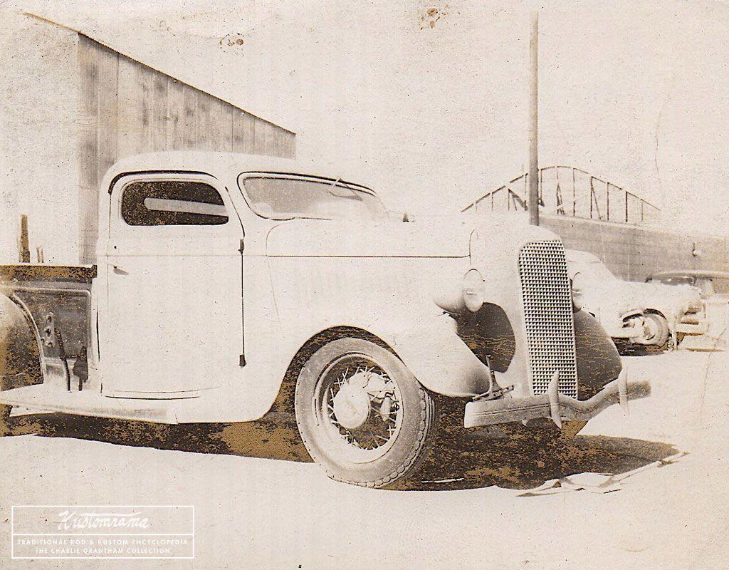 Pin En Custom Cars Of The 1940s