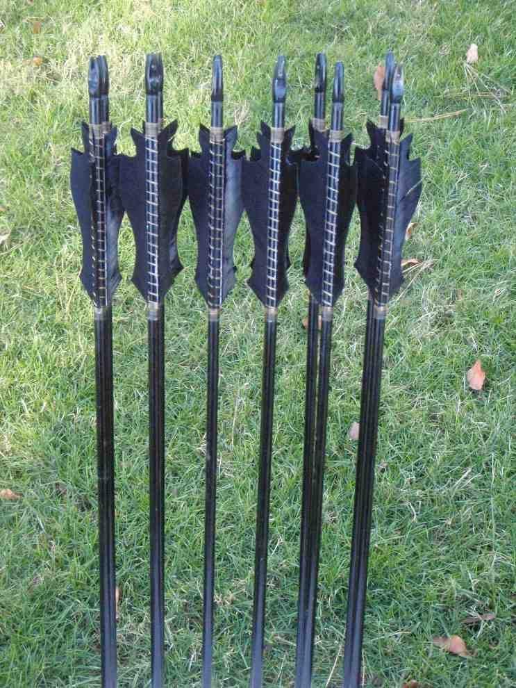 Black Archery Arrows Archery arrows, Archery, Crossbow
