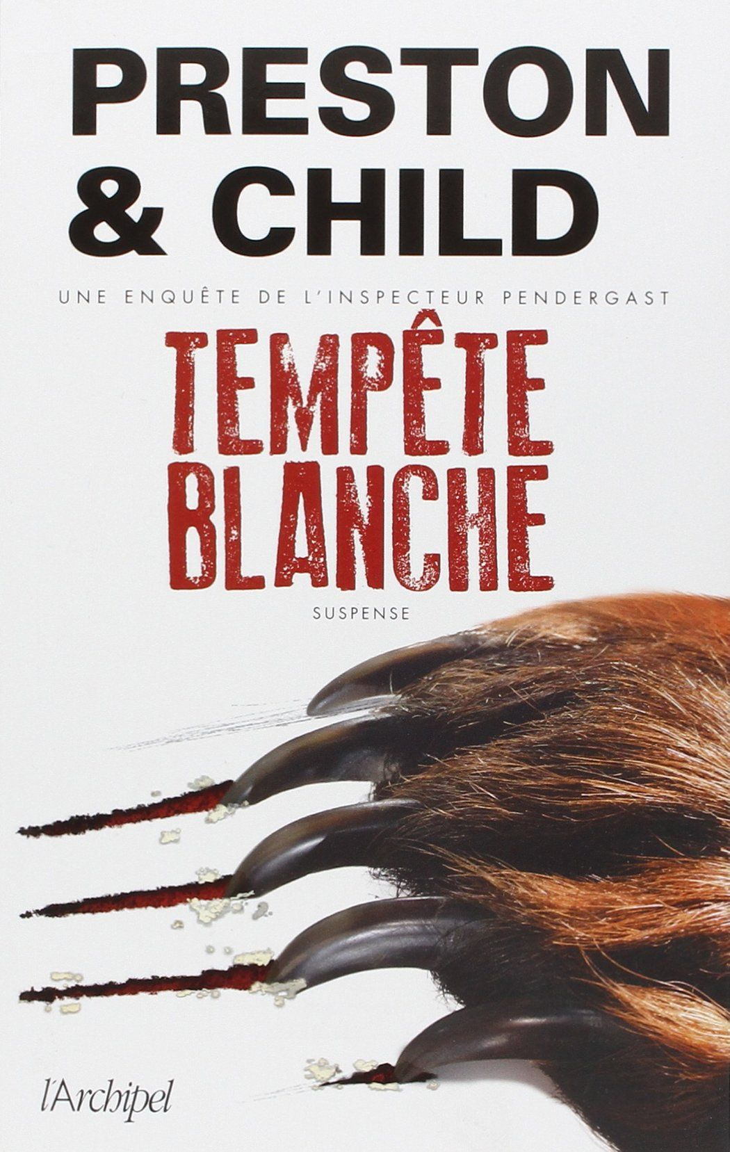 Ma chronique de 'Tempete blanche' de Preston & Child