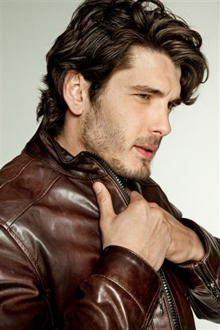 I'm just getting to know him. I saw him on the Netflix series, Grand Hotel, and my goodness his hot.