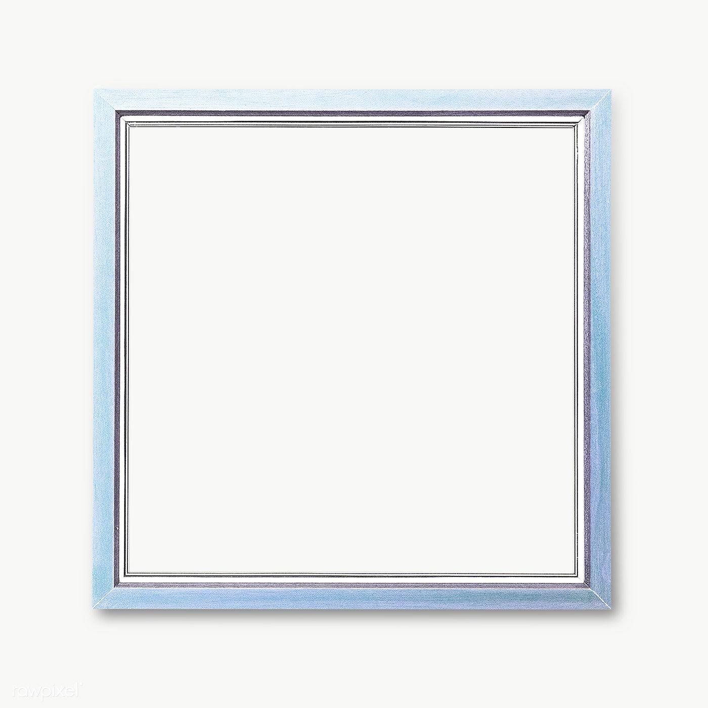 Light Blue Photo Frame Mockup Premium Image By Rawpixel Com Ployploy Frame Frame Mockups White Photo Frames