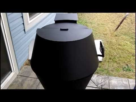 Grilla Smoker-Grill demo