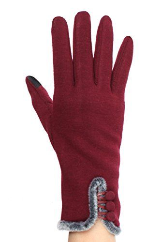 Valentine's Day Sale - SAVE 10% with code HK4NZS3L through 2/14/2017 on red touchscreen gloves http://amzn.to/2k8Grrj