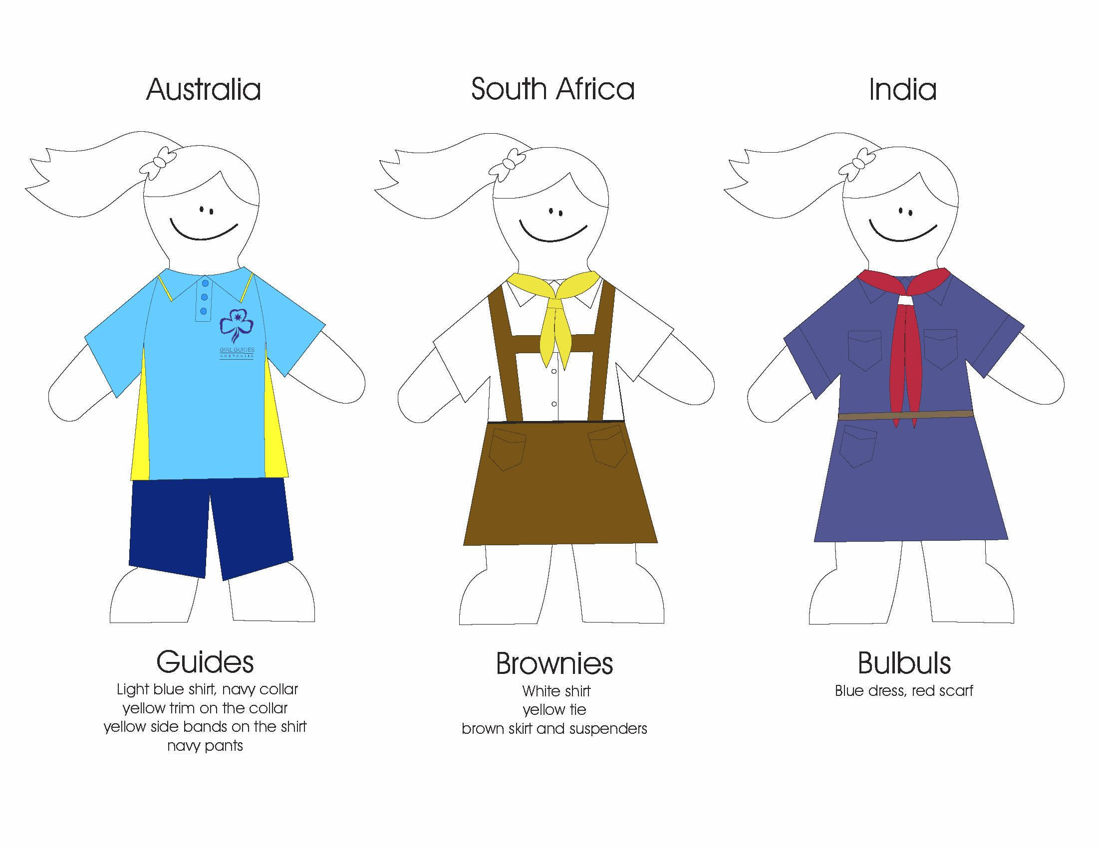 Brownie Uniforms From Other Countries