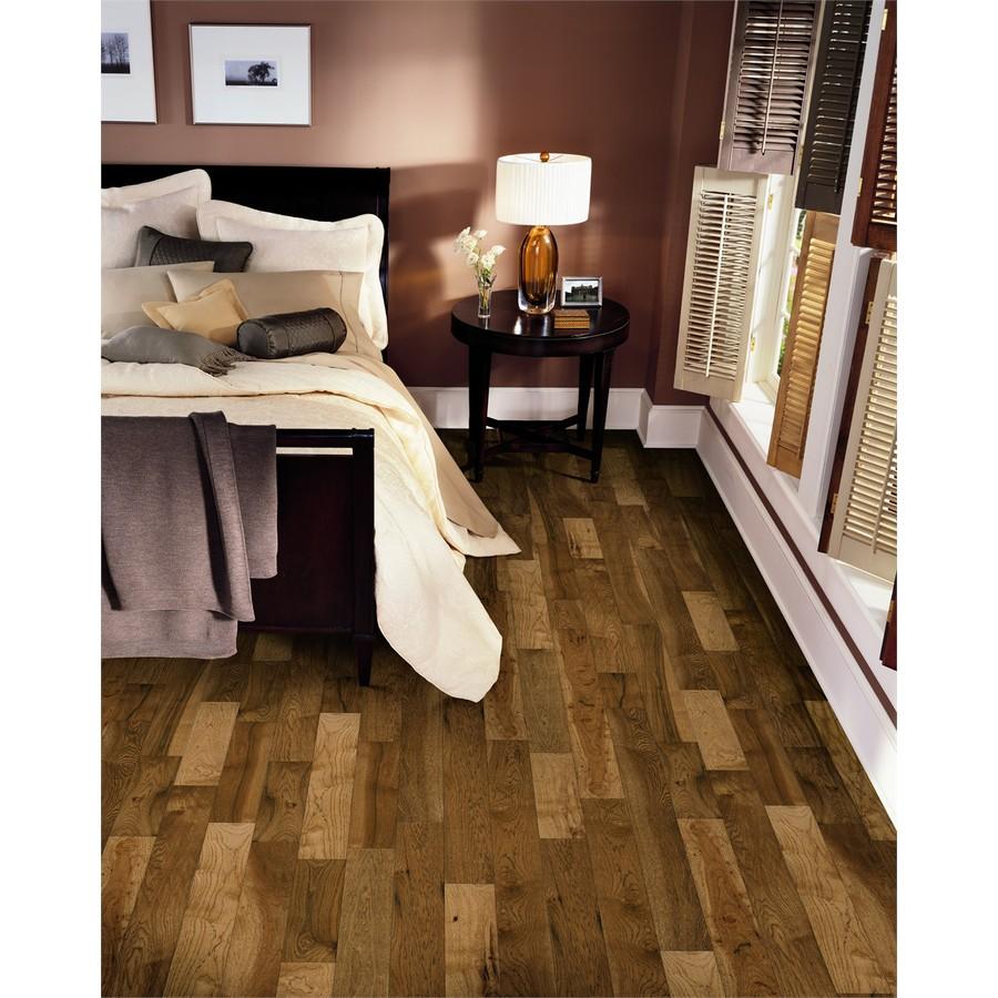 Bruce America S Best Choice 5 In Honey Grain Hickory Smooth Traditional Solid Hardwood Flooring 23 5 Sq Ft Lowes Com Solid Hardwood Floors Solid Hardwood Hardwood Floors