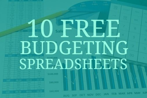 10 Free Household Budget Spreadsheets for 2018 Household budget - free download budget spreadsheet