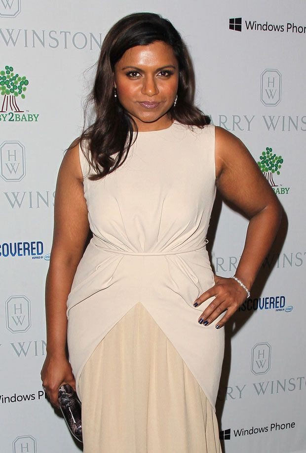 Vera Chokalingam aka Mindy Kaling - Beautiful full-figured actress from The Office and her new show The Mindy Project