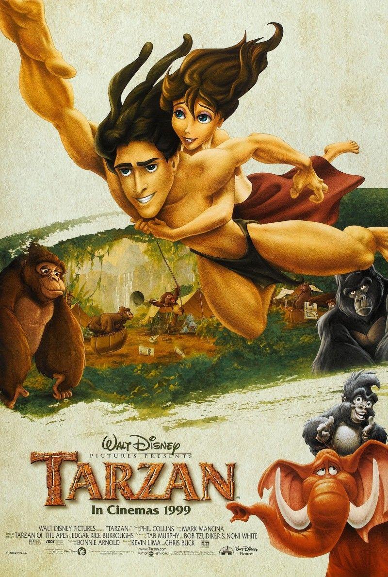 Tarzan 1999 Tarzan Movie Tarzan Classic Movie Posters