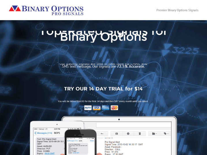 Binary option bullet automated signals
