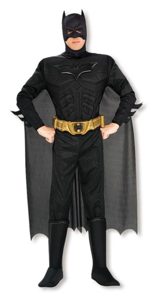 batman kost m superhelden kost me horror batman superhero horror shop. Black Bedroom Furniture Sets. Home Design Ideas