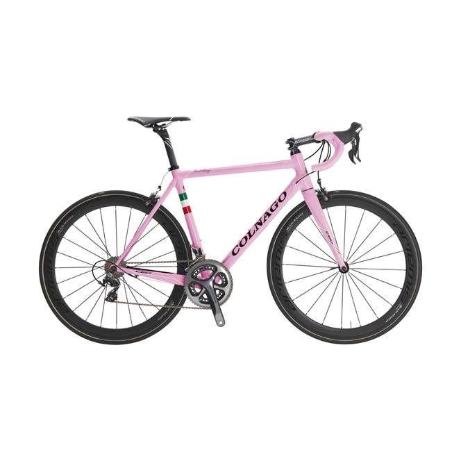 Colnago C60 Italia Dual Routed Frameset Pink Italia Rsro