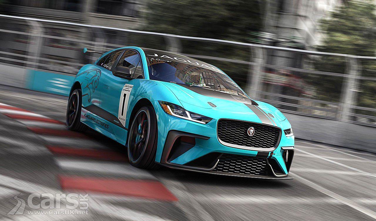 Jaguar I Pace Isn T Just An Electric Suv It S A Race Car Too Cars Uk Jaguar All Electric Cars Car Car