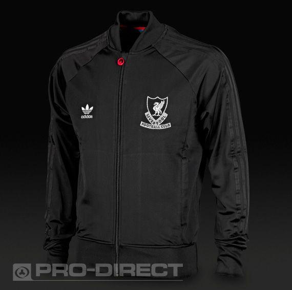7c45371a5158 adidas Orginals Liverpool Track Top - Black £54.99