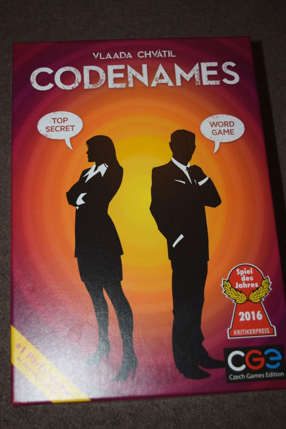 Codenames Game Review Serenity You