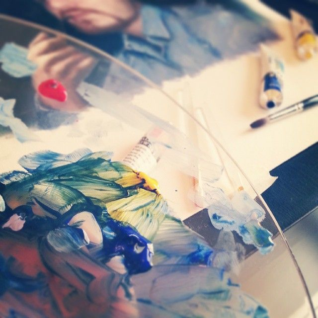#Acrylic #time ☺☺ #Portrait #painting #Drawing #digitalPainting #Sketching #wacom #corelpainter #art #illustration #draw #artist #sketch #sketchbook #Pencil #pen #instaart #gallery #creative #instagram #MyDubai #UAE #Dubai #رسم #رسامين_العرب #كلنا_رسامين #رسامين