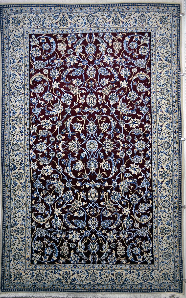 Nain Wool Persian Rug Item 2024 Rugs On Carpet Persian Rug Rugs