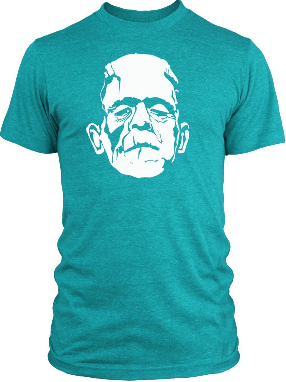 Big Texas Dr. Frankensteins Monster (White) Vintage Tri-Blend T-Shirt