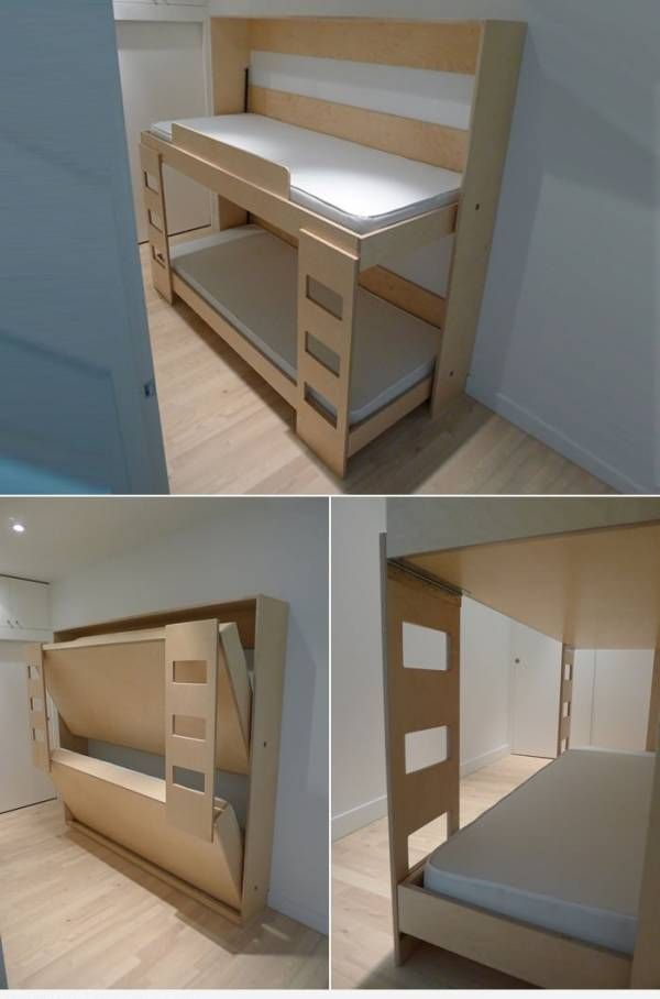 Dumbo Folding Bunk Bed Plans Murphy Beds Best