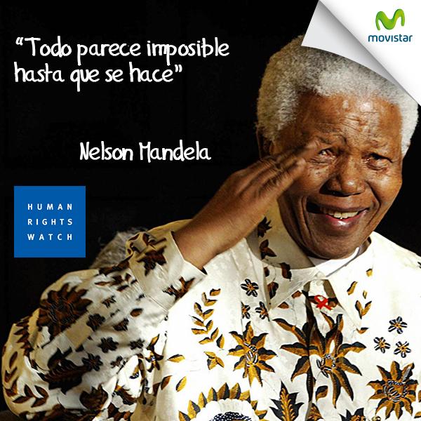 Pinterest Hoy Celebramos El Día Internacional De Los Derechos Humanos Y Lo Hacemos Con Una Inspiradora Frase De Nelson Mandela Nelson Mandela Mandela