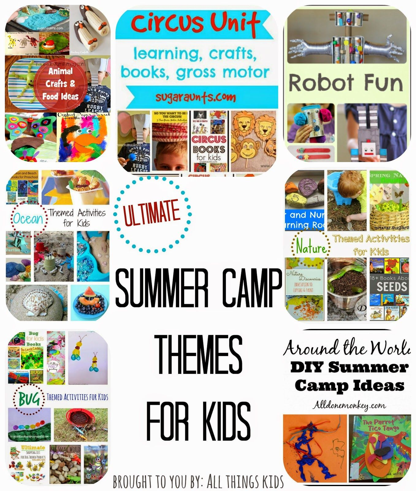 summer camp themes for kids | summer camp | summer camp themes