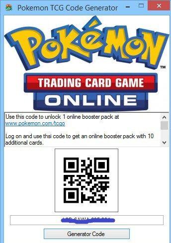 Pokemon Trading Card Game Online Redeem Codes Generator Carte