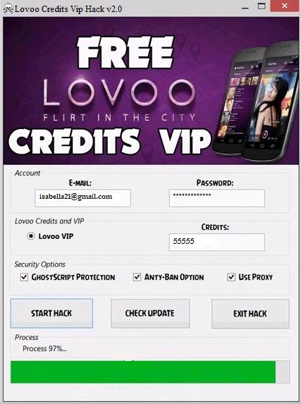 lovoo free credits codes